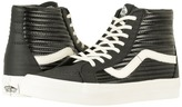 Vans SK8-Hi Reissue Black/Blanc De Blanc) Skate Shoes