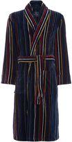 Howick Multistripe Towelling Robe
