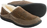 Acorn Rambler Slippers - Wool-Leather, Fleece Lined (For Men)
