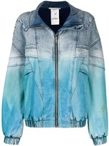 Stella McCartney dip dye denim jacket