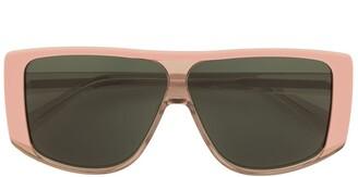 Karen Walker Square Tinted Sunglasses