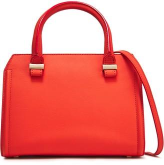 Victoria Beckham Two-tone Textured-leather Shoulder Bag