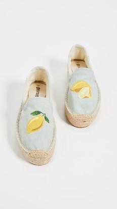 Soludos Lemons Smoking Slippers
