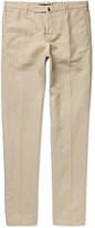 Incotex Chinolino Slim-Fit Linen and Cotton-Blend Twill Chinos