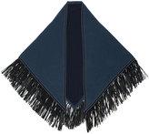 Antonia Zander fringed scarf