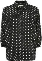 The Great Pillbox polka-dot blouse