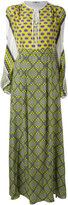 MSGM patterned maxi dress - women - Silk - 42