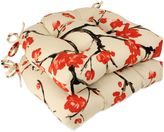 Bed Bath & Beyond Flowering Branch Reversible Chair Pads (Set of 2)
