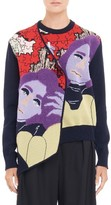 J.W.Anderson Women's Graphic Puzzle Knit Cardigan