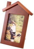 Black Temptation 7-inch Wooden Photo Frame House Shape Home Decoration