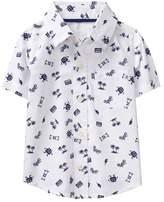 Crazy 8 Moto Print Shirt