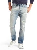 Gap ORIGINAL 1969 vintage destructed slim fit jeans
