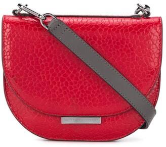 Brunello Cucinelli Contrast Strap Cross Body Bag