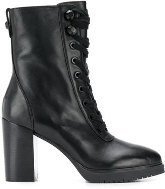 Liu Jo lace-up ankle boots