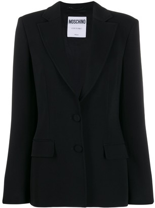 Moschino Single Breasted Blazer