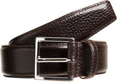 Crockett Jones Crockett & Jones Men's Grained Leather Belt