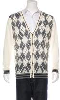 CNC Costume National C'N'C Alpaca-Blend Patterned Cardigan w/ Tags