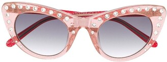 No.21 Crystal Embellished Sunglasses