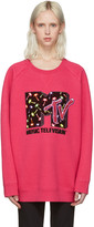 Marc Jacobs Pink Palms MTV Pullover