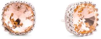 Sterling Silver Swarovski Crystal Crown Setting Earrings