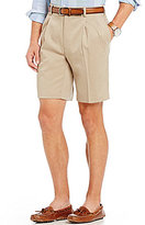Roundtree & Yorke Pleated Non-Iron Ultimate Comfort Shorts