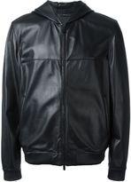Fendi hooded jacket - men - Lamb Skin - 48