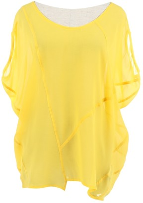 Unconditional \N Yellow Silk Top for Women