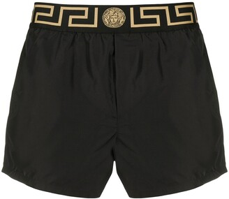Versace Greca logo boxers