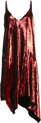 Marques Almeida Marques'almeida asymmetric sequin shift dress