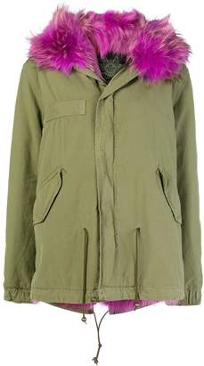 Mr & Mrs Italy short length parka coat