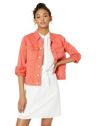 J.Crew Mercantile Women's Cropped Garment-Dyed Denim Jacket