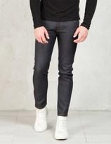 SASQUATCHfabrix. Indigo Knit Like Denim Taperd Slim Pants