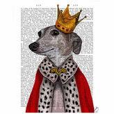 Asstd National Brand Greyhound Queen Canvas Wall Art