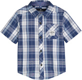 Buffalo David Bitton Insignia Blue Plaid Sentinal Button-Up - Boys
