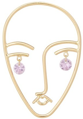 PERSÉE Faces single earring