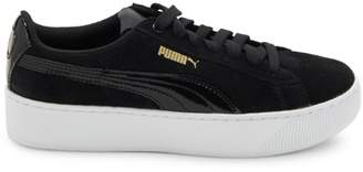 Puma Logo-Embossed Lace-Up Sneakers