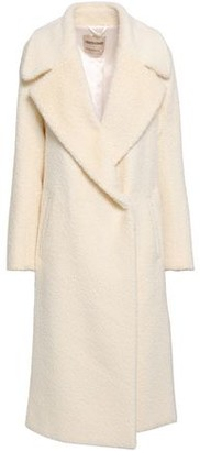 Roberto Cavalli Double-breasted Alpaca-blend Coat