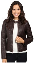 "Andrew Marc Vivian 20"" Vintage Vegan Leather Jacket"