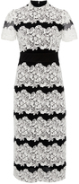 Burberry Two Toned Chantilly Lace Dress