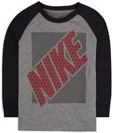 Nike Boys' Flyknit Block Raglan Tee - Little Kid