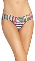 Hanky Panky Women's Chalk Stripe Low Rise Thong