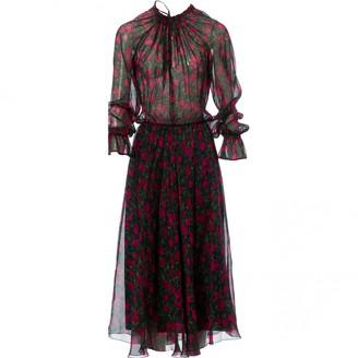 Raquel Diniz Pink Silk Dresses