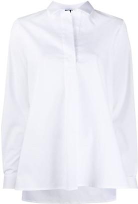 Fay Plain Button-Down Shirt
