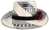 Yosuzi Woven Straw Tayrona Hat - women - Cotton/Wool/Straw - 57