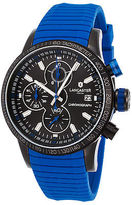 Lancaster Italy OLA1067S-BK-NR-BL Men's Admiral Chronograph Blue Silicone