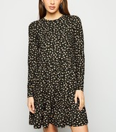 New Look Floral Soft Touch Smock Dress