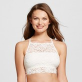Xhilaration Women's Lace High Neck Bralette