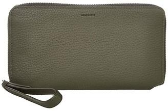 AllSaints Fetch Phone Wristlet (Khaki Green) Wristlet Handbags