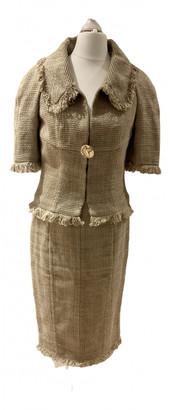 Chanel Beige Linen Jackets