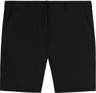 Lindsay Nicholas New York Long M.I.N.Y. Pant In Black Silk/Wool